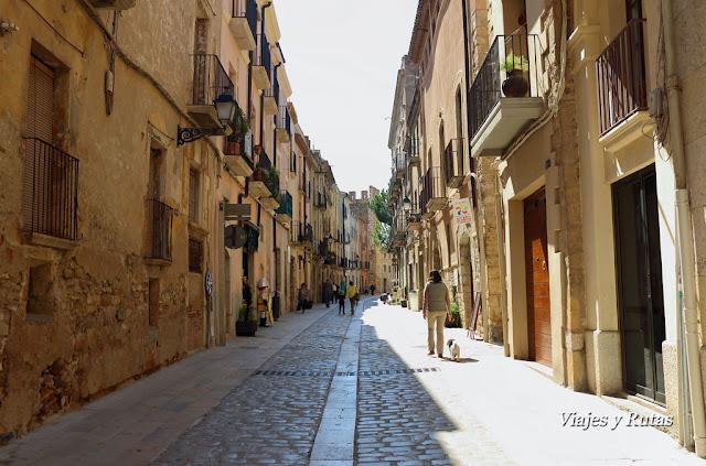 Calle Mayor, Montblanc, Tarragona