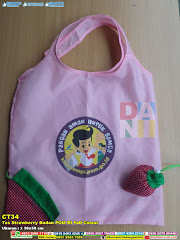 Tas Strawberry Badan POM RI Full Colour