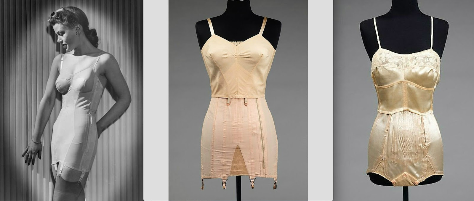 9a826d6c8 The full body girdle...Long-line bra   girdle featuring a streamlined zip  closure...The panty girdle