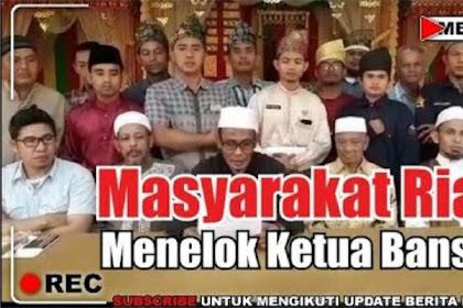 Tolak Kegiatan GP Ansor dan Banser di Bumi Melayu, Ini Pernyataan Tegas Masyarakat Riau