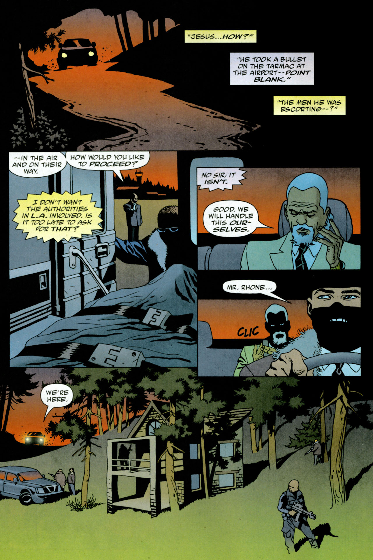 Read online 100 Bullets comic -  Issue #84 - 11