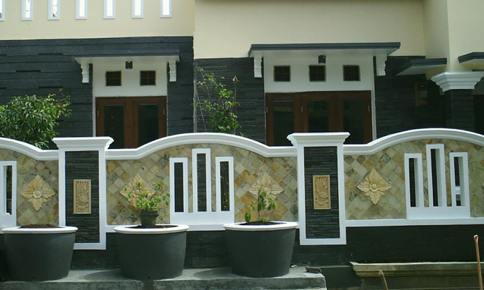 Contoh Desain Pagar Rumah Minimalis