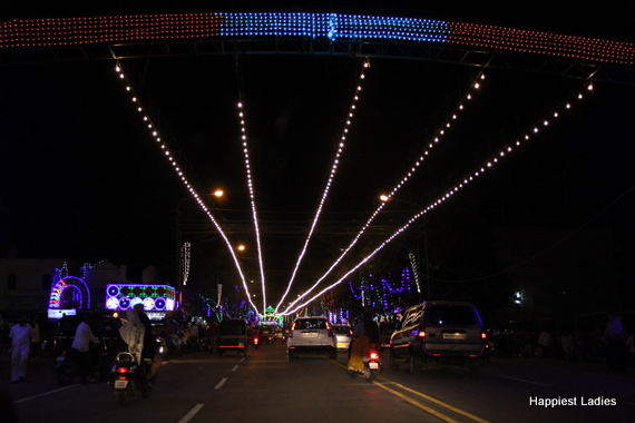 Mysore Dasara Street Lightings11
