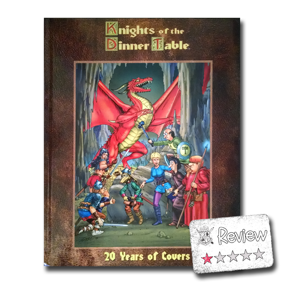 Frugal GM Review: Knights of the Dinner Table 20 Years of Covers