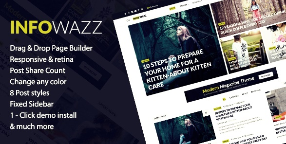 İnfoWazz Wordpress Teması
