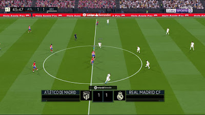 PES 2017 Scoreboard New La Liga Santander by AZ Mods
