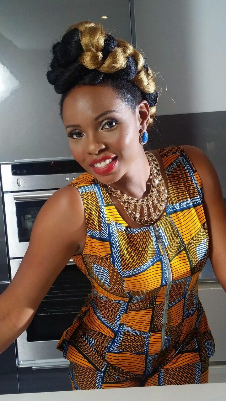 Kitenge Female Suit Yemi Alade The Click Styles