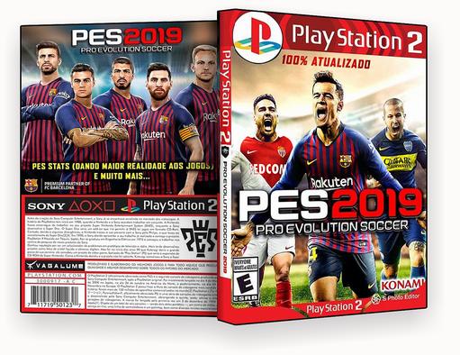 JOGO PS2 – Pes 2019 Atualizado – ISO