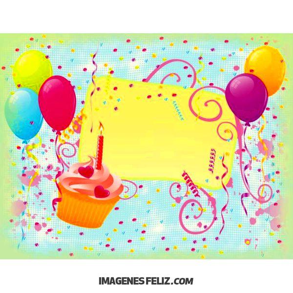 Feliz Cumpleaños Para Imprimir Imágenes Frases Bonitas