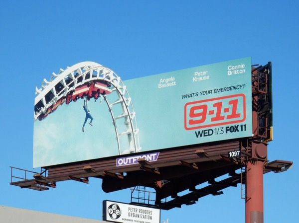 911 series premiere billboard