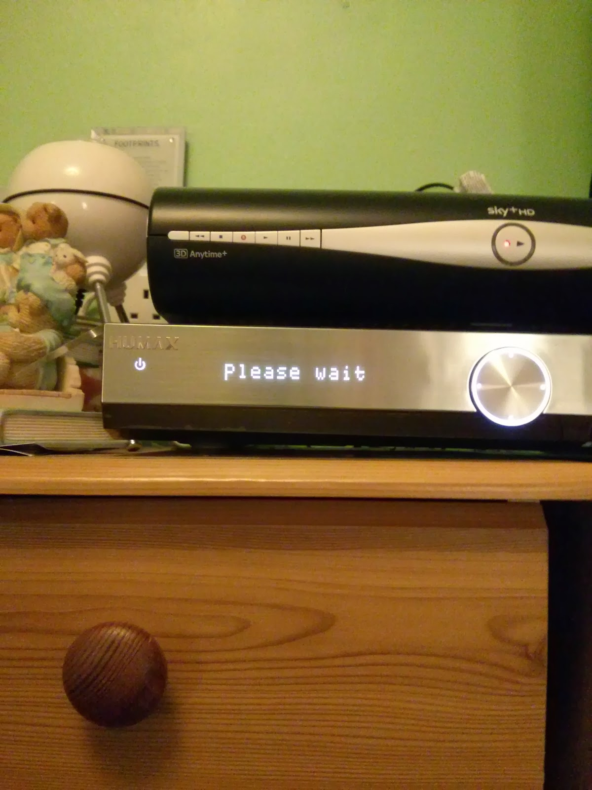 The youview box is so polite!