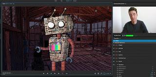 برنامج Adobe Character Animator CC  الخاص بصنع شخصيات الكرتون
