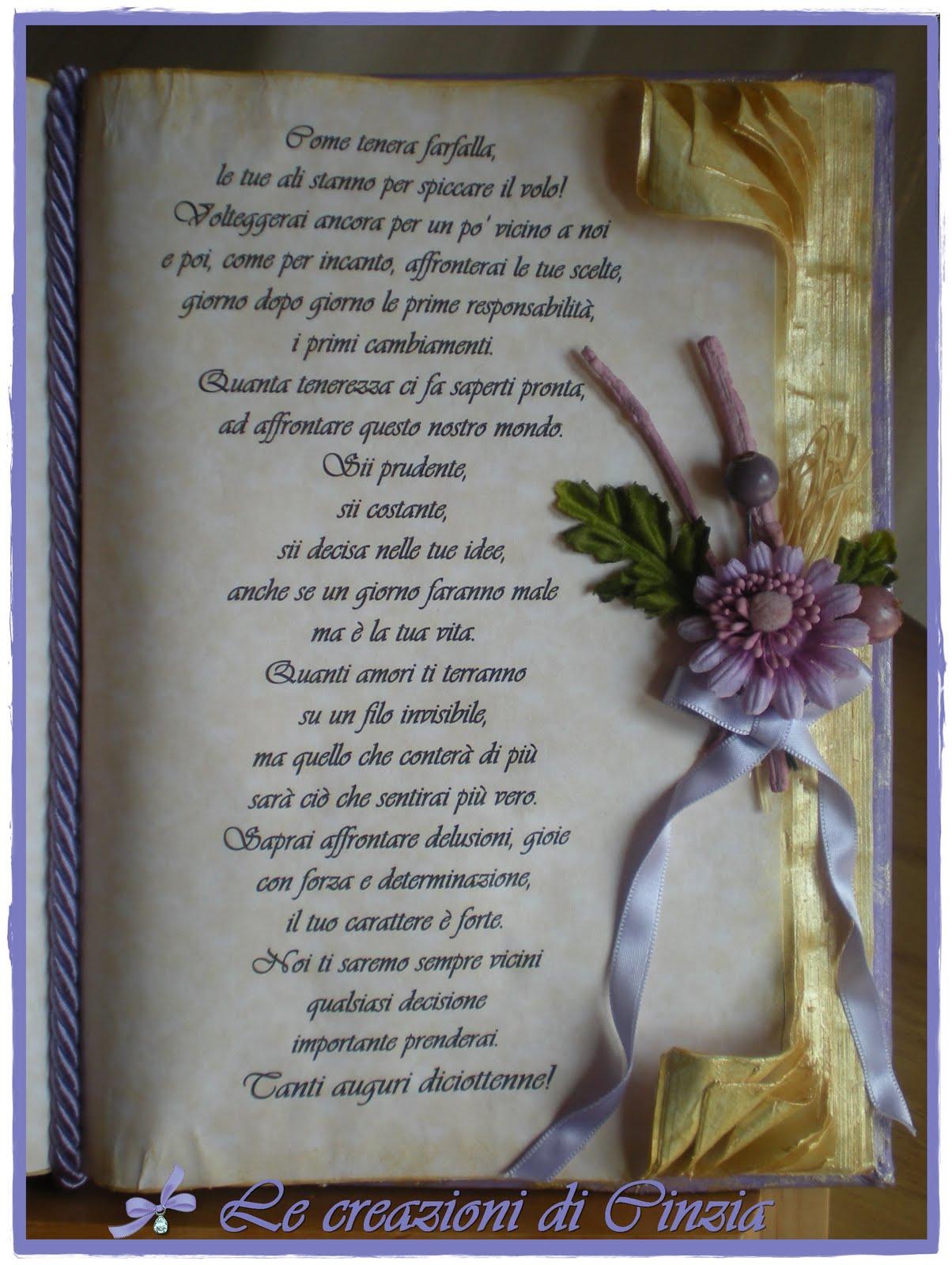 Frasi Di Auguri Per Matrimonio Del Nipote : Le creazioni di cinzia libro per anni