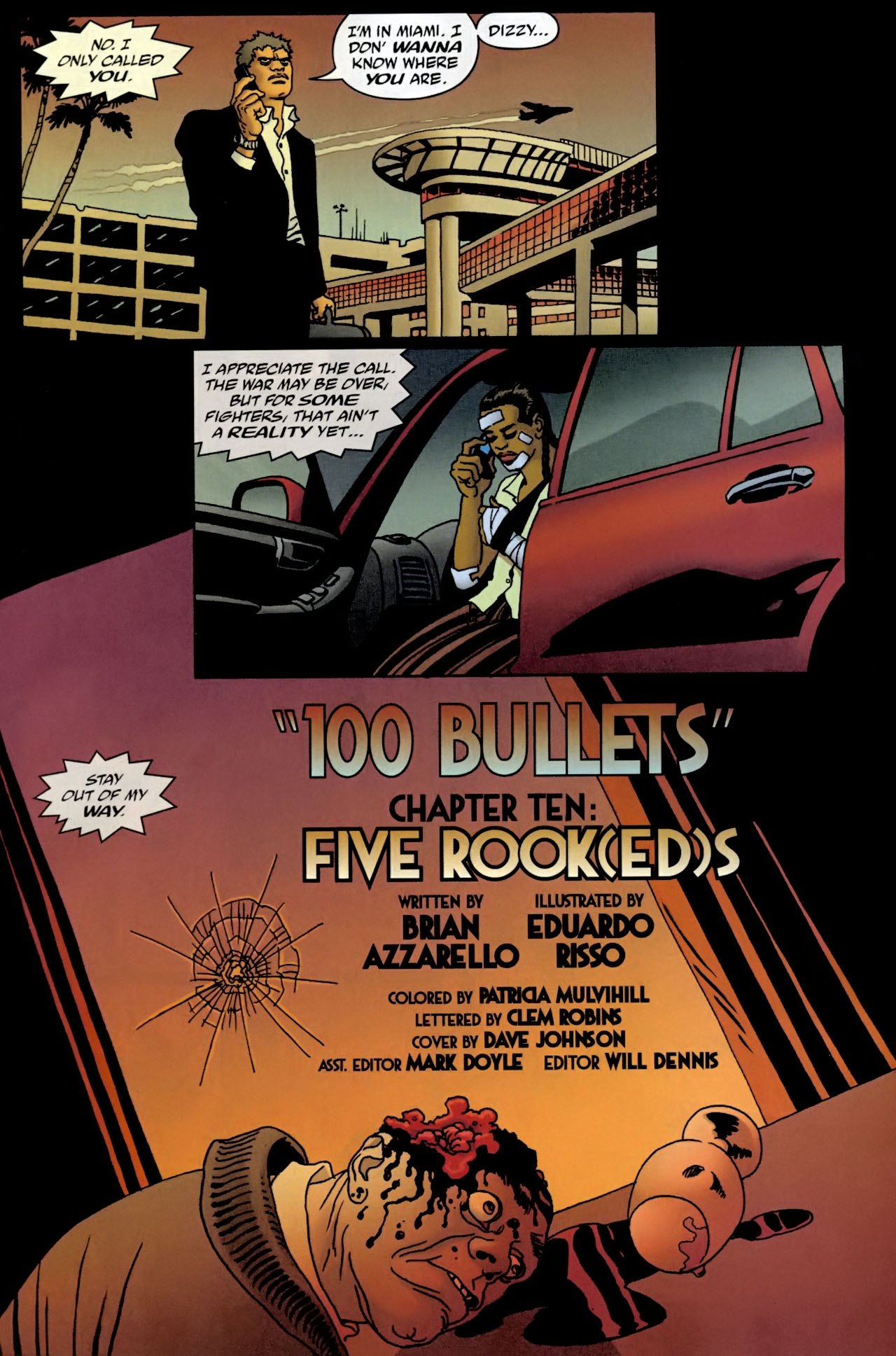 Read online 100 Bullets comic -  Issue #98 - 4