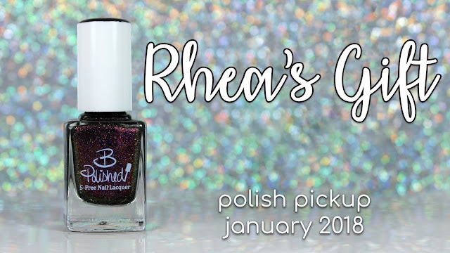 B Polished Rhea's Gift | Polish Pickup January 2018 | Crystals & Gemstones
