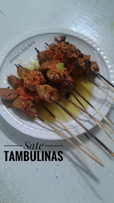 Resep Sate Tambulinas
