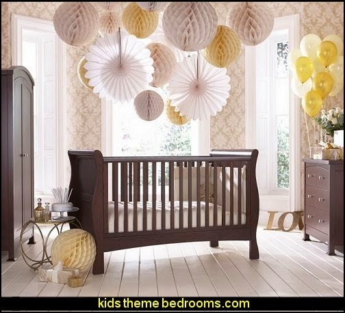 izziwotnot Bailey Mahogany 3 Piece Room Set- baby bedrooms