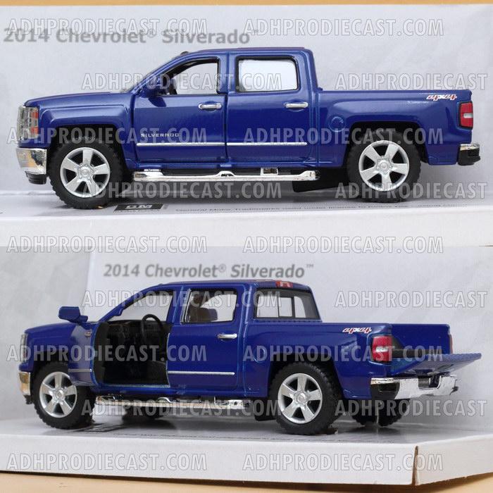 Miniatur Mobil Chevrolet Silverado 2014