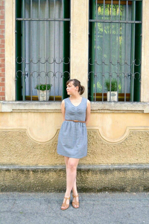 Sureau Dress in chambray by Dotta