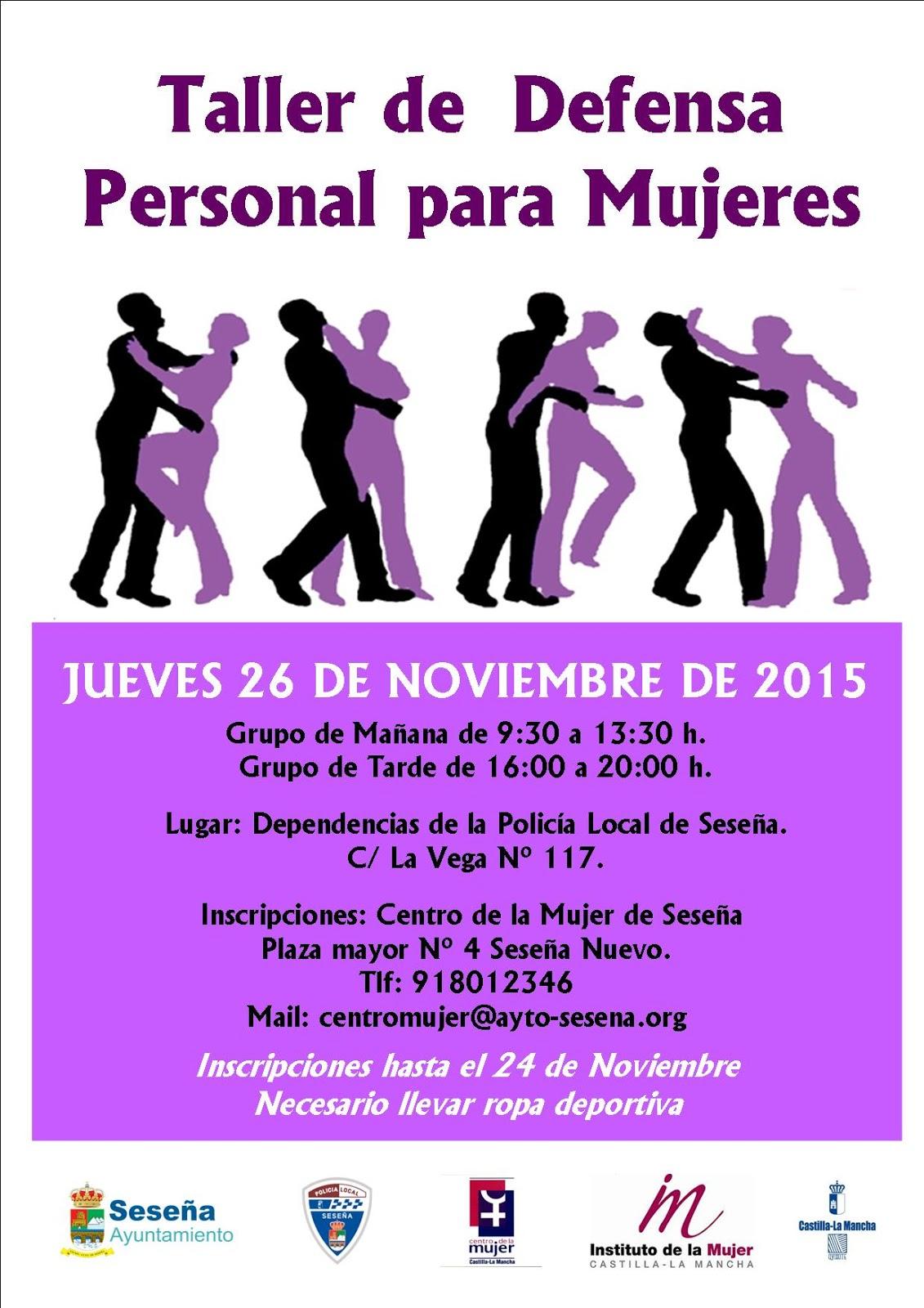 Centro De La Mujer De Seseña Taller De Defensa Personal Para Mujeres