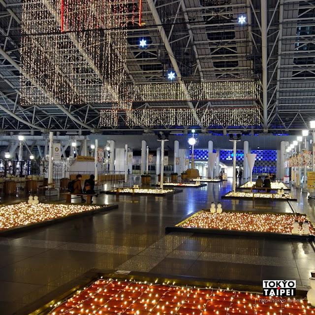 【Twilight Fantasy】從天到地的滿滿燈泡 大阪駅冬季奇幻燈光秀