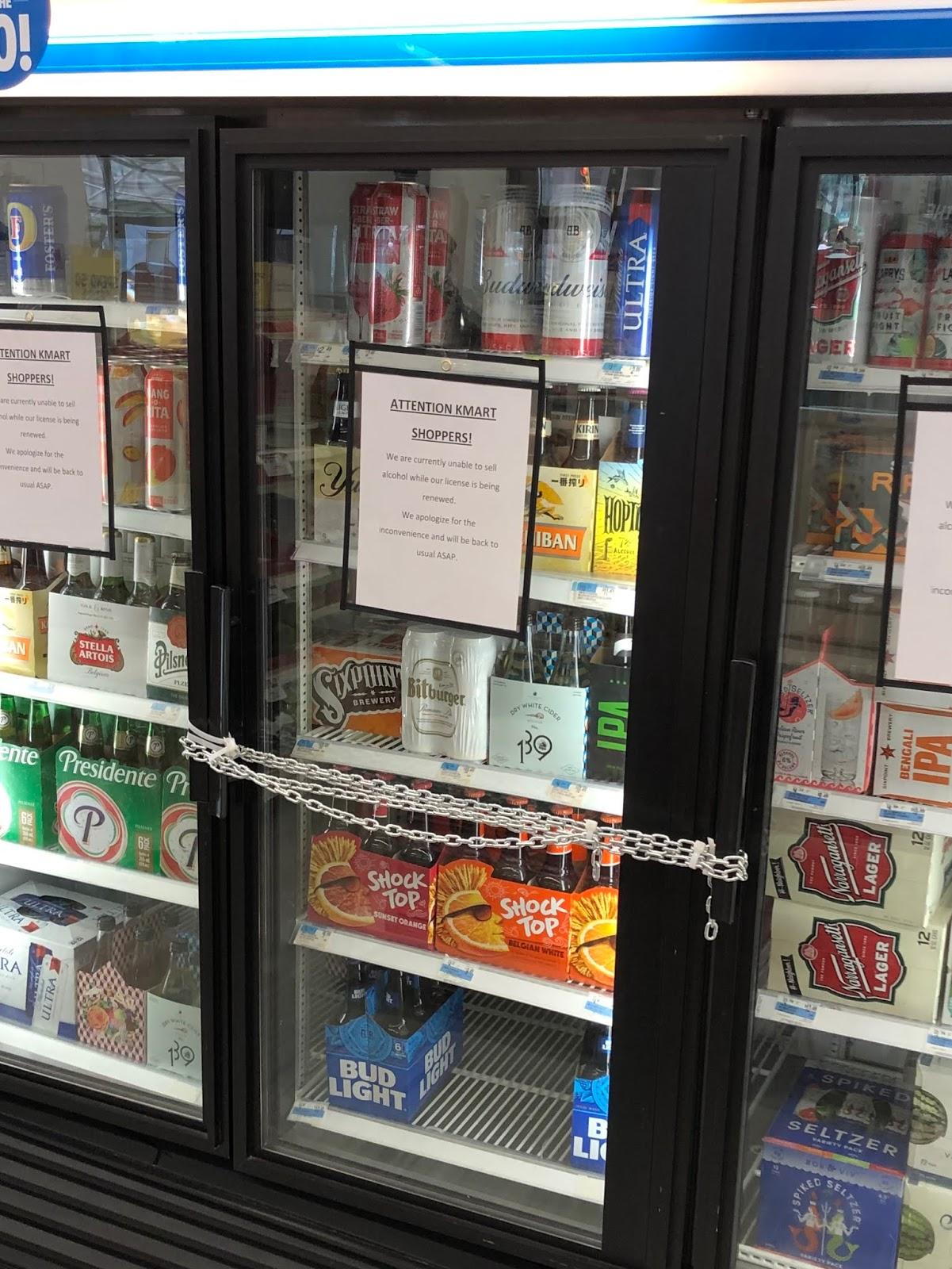EV Grieve: Attention Kmart drinkers