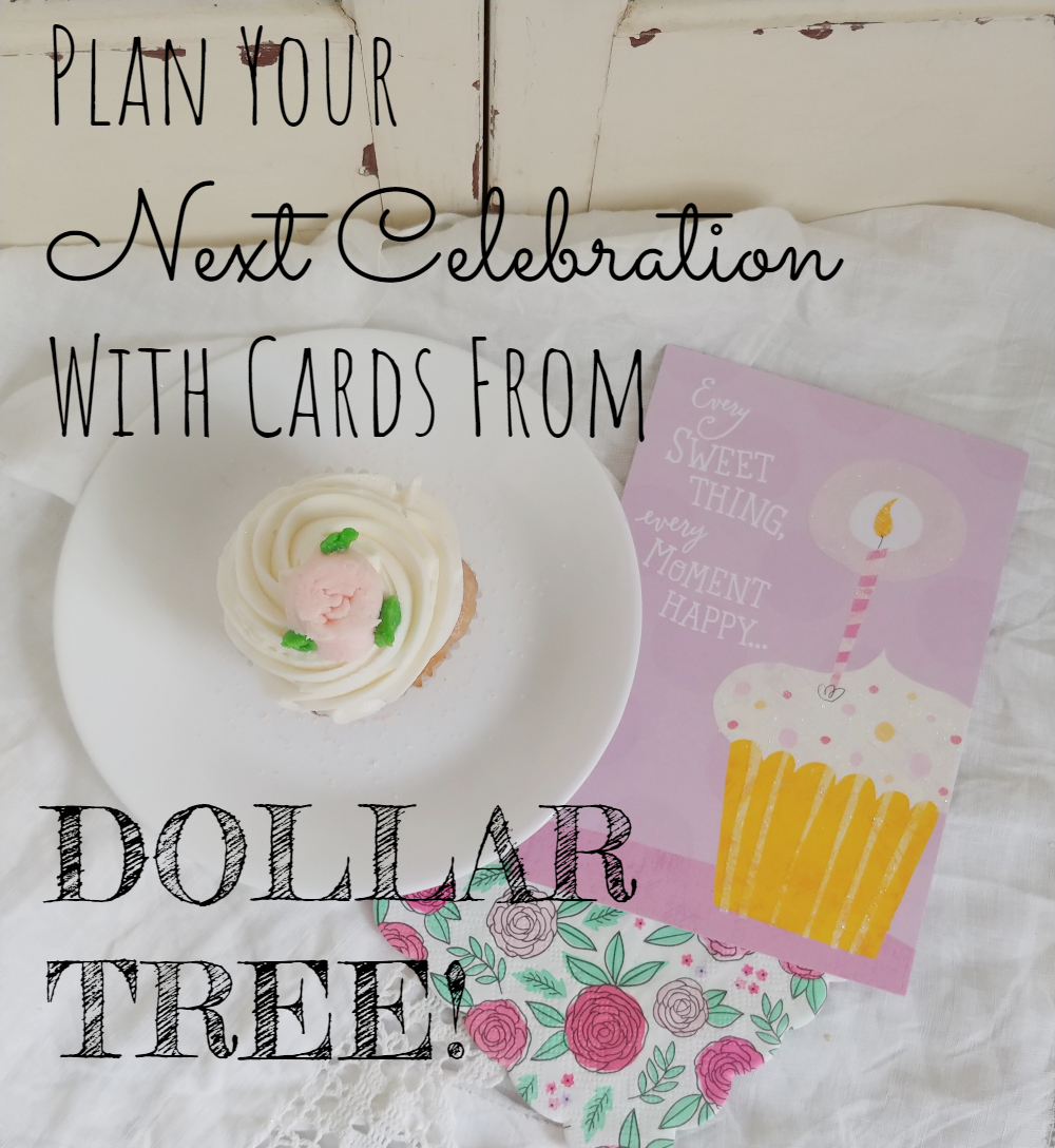 Plan Your Next Celebration With Cards From Dollar Tree!