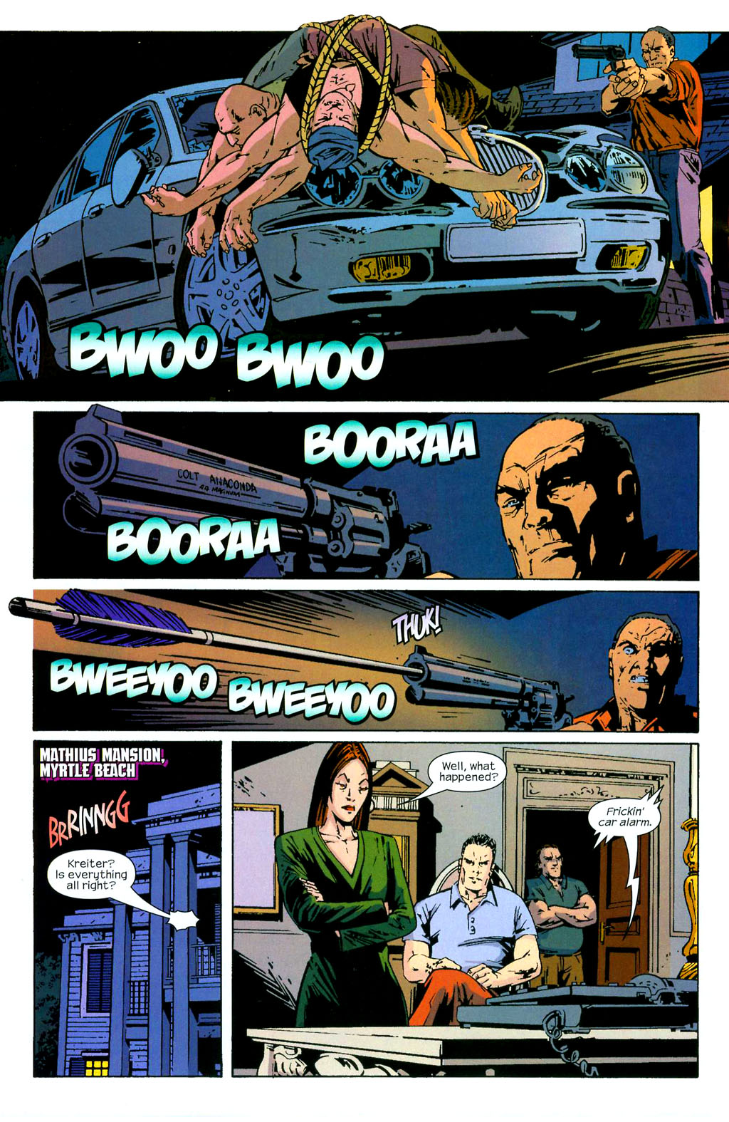 Hawkeye (2003) Issue #3 #3 - English 14