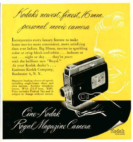 ORPHO: Old glorious movie cameras: Cine-Kodak Royal Magazine
