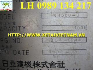 CẨU BÁNH XÍCH 100 TẤN HITACHI KH500-3