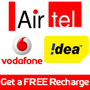 Free Recharge only for india