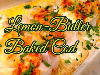 Lemon-Butter Baked Cod