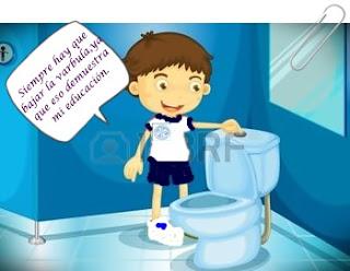 Un ba o limpio y todos felices cuidado del ba o de mi for Como limpiar bien el bano