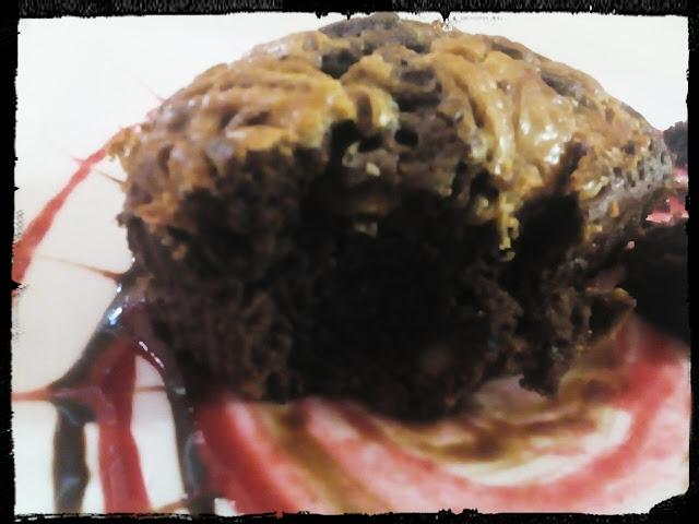 Brownies vetados con nocilla