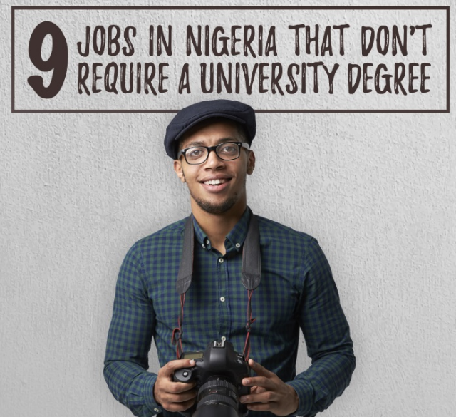 Best Paid Jobs in Nigeria You Don't Need a Degree For