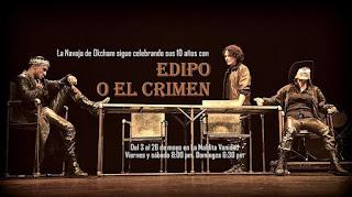 La navaja de Ockham presenta EDIPO O EL CRIMEN