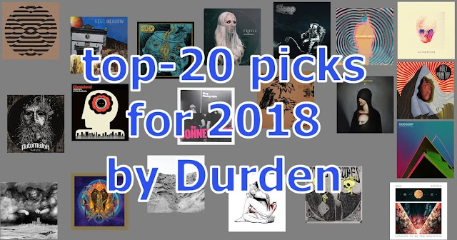 20 release picks for 2018 by Durden