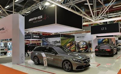 جناح مرسيدس المبهر في معرض بولونيا للسيارات 2016
