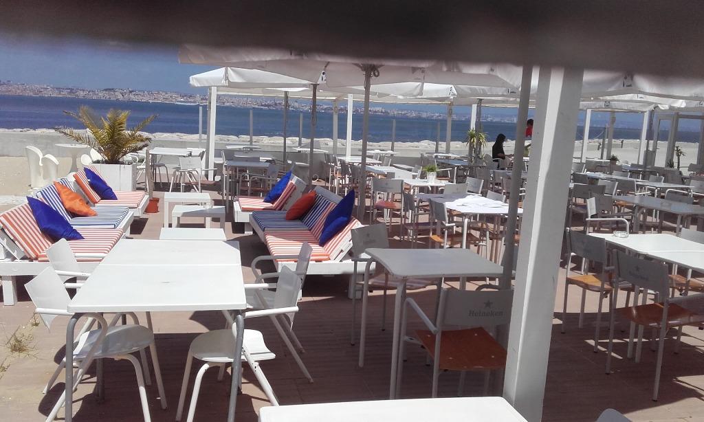 Lounge bar Praia Norte no Barreiro