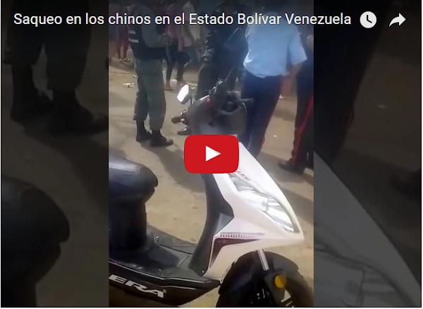 Policías y Guardias organizaron los Saqueos en Ciudad Bolívar