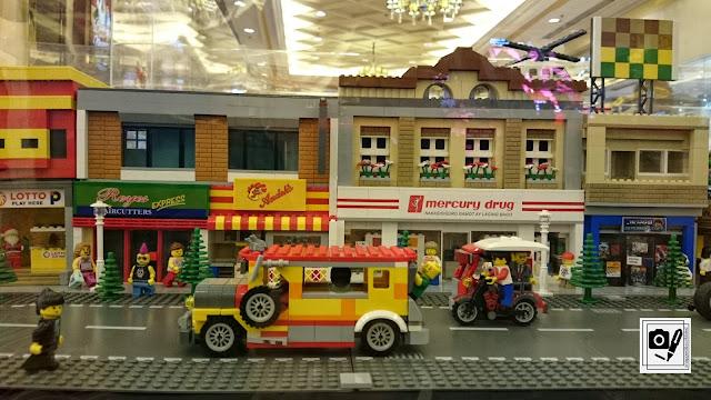Largest LEGO Display at BRICKXhibit Resorts World Manila
