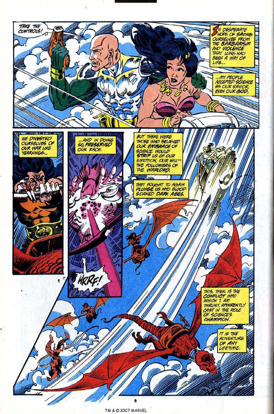 Read online Silver Surfer (1987) comic -  Issue #91 - 10