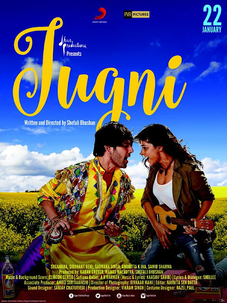 Poster Of Jugni 2016 480p Hindi BRRip Full Movie 300MB HEVC