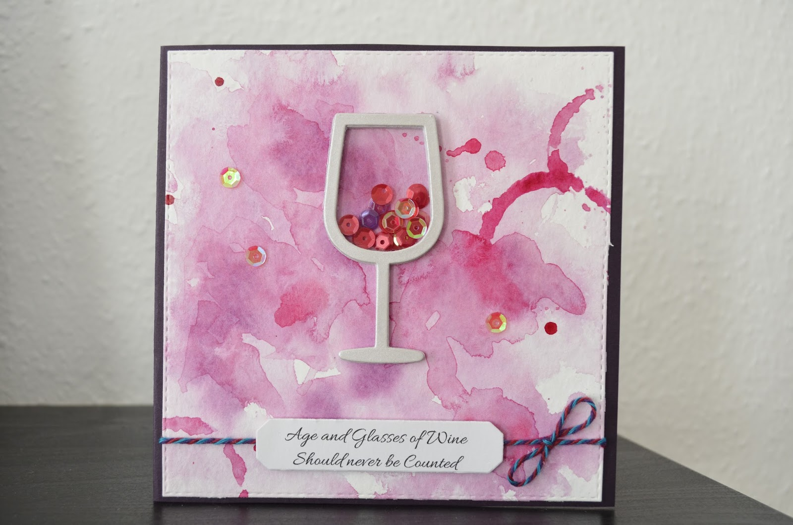 Wine Lovers Birthday Card