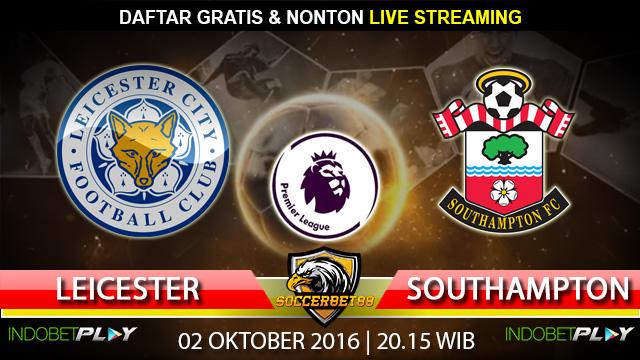 Prediksi Leicester vs Southampton 02 Oktober 2016 (Liga Inggris)