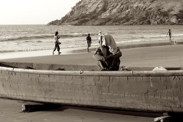 Kudley Beach, Gokarn, Intia, 2007