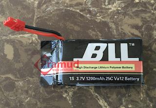 upgrade baterai 1200mAHW syma X5HW - pramud
