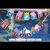 Bunting Banner HAPPY BIRTHDAY Motif Peppa Pig