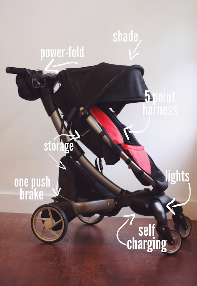 A Review of the 4moms Origami Baby Stroller | Spot Cool Stuff: Tech | 931x640