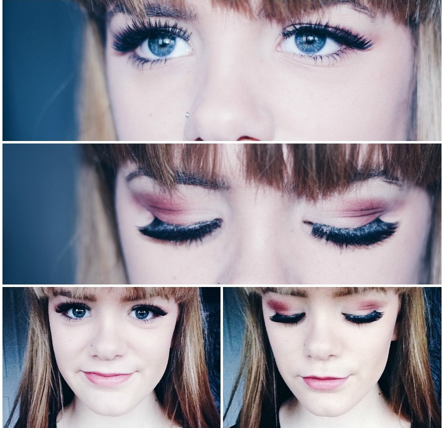 Berry Eyeshadow Makeup Look